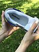 Женские кроссовки бежевые с синим 7958, фото 3