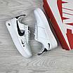 Женские кроссовки белые Air Force 1 8096, фото 4