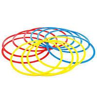 Кольца тренировочные (комплект 12 шт, 3 цвета, 50см) + сумка, фото 1