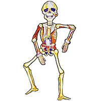 Декор на стену Happy Haloween Скелет с ремнем 85см scel-yel-85, КОД: 1290021