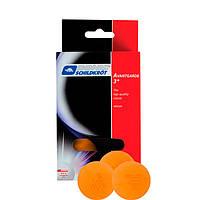 Шарики для настольного тенниса Donic Avantagardes 3*, 6шт, оранж