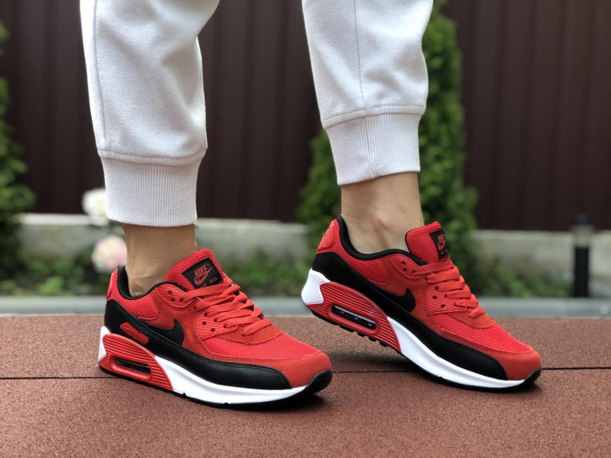 Женские кроссовки красные 9495