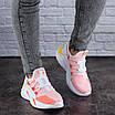 Женские кроссовки летние розовые Louie 1880, фото 8