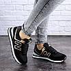 Женские кроссовки летние черные Nix 1990, фото 2