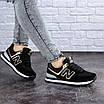 Женские кроссовки летние черные Nix 1990, фото 4