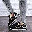 Женские кроссовки летние черные Nix 1990, фото 5