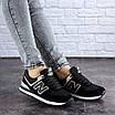 Женские кроссовки летние черные Nix 1990, фото 6