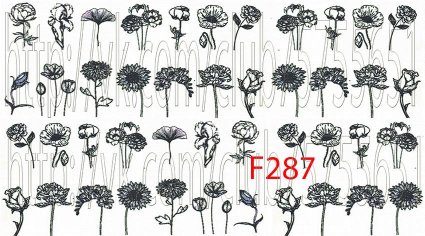 Слайдер дизайн для ногтей цветы