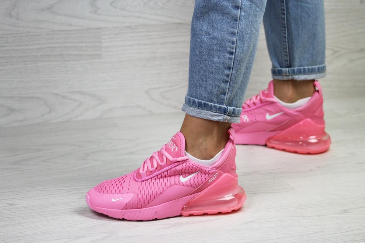 Женские кроссовки розовые Air Max 270 7812