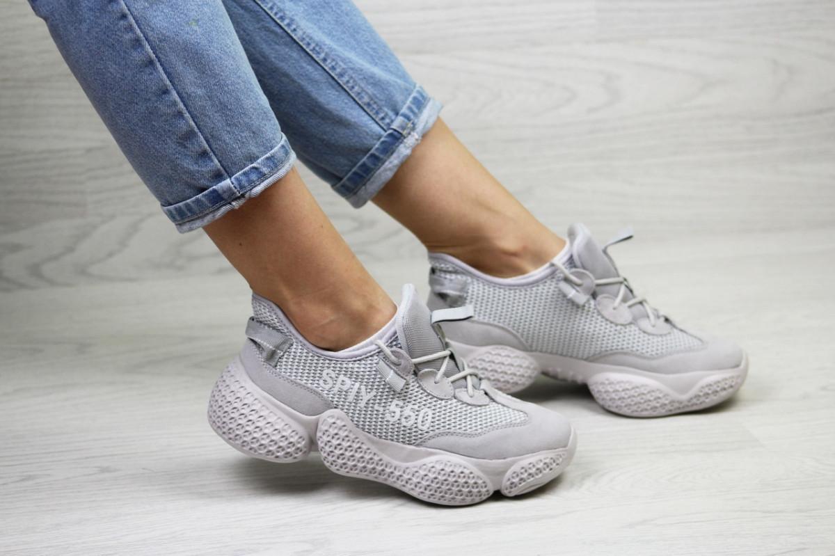 Женские кроссовки серые SPIY-550 7852