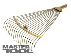 MasterTool Граблі віялові розсувні фарбовані 18 зуб 500*390 мм, Арт.: 14-6233