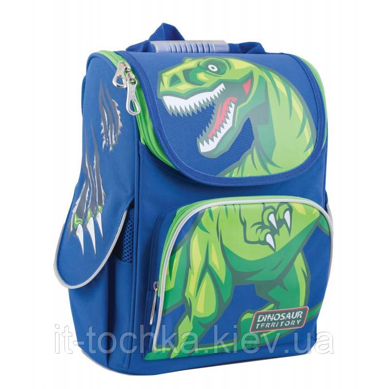 Рюкзак школьный каркасный  yes  h-11 dinosaur, 34*26*14