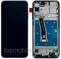 Дисплей Huawei Honor 10 Lite (HRY-LX1) + сенсор черный, с передней панелью ( модуль, стекло)