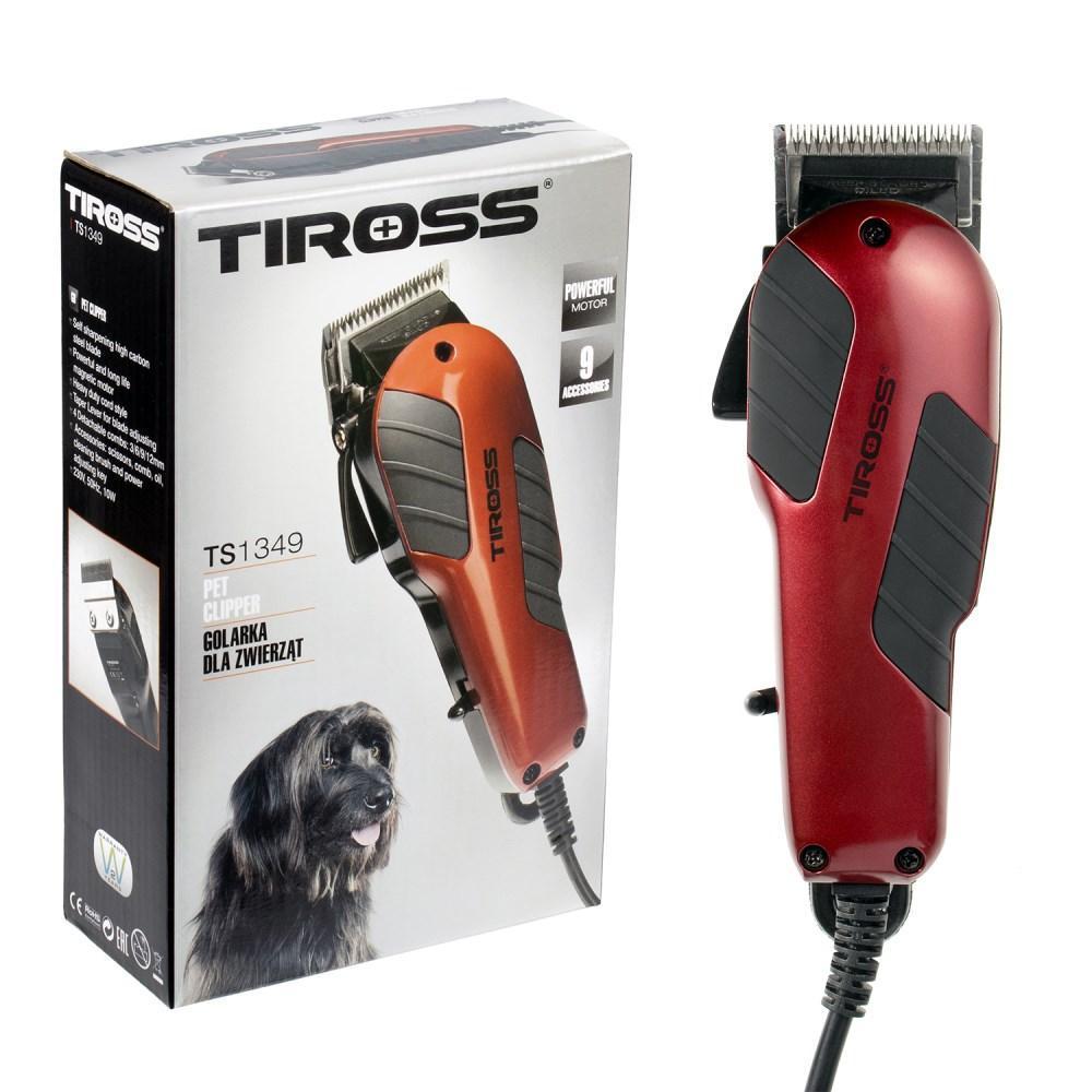 Машинка для стрижки животных (груминга) Tiross TS-1349