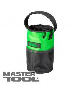 MasterTool  Сумка для инструментов цилиндрическая 220*145 мм, 1680 DEN, 10 карманов, усиленное дно, Арт.: 79-1937