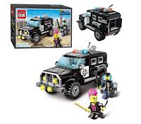 Конструктор Brick 1110 Полицейский джип
