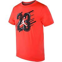 Футболка с принтом Air Jordan 23 мужская | Красная
