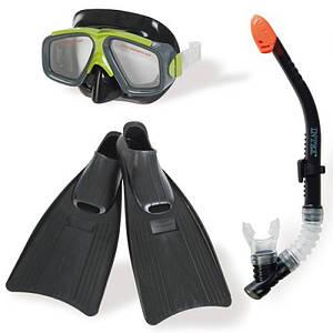 Набір для плавання Intex 55959 гіпоалергенний Чорний (int_55959)
