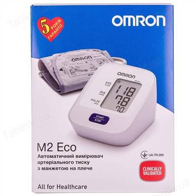 Тонометр автоматичний OMRON M2 Eco (HEM-7120-AF), фото 2