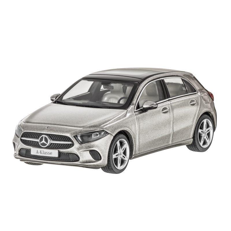 Модель Mercedes-Benz A-Class (W177), Progressive Line, Scale 1:43, Mojave Silver, артикул B66960427