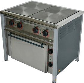 Плита електрична 4-х комфорна з духовкою