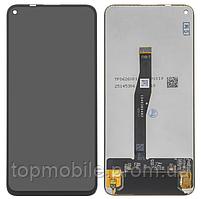 Дисплей Huawei Honor 20 (YAL-L21)/Honor 20 Pro/Nova 5T + сенсор черный, оригинал (Китай) ( модуль, стекло)