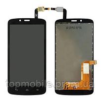 Дисплей Huawei Honor 3C Lite + сенсор черный  ( модуль, стекло)