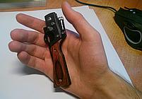 Складной нож модель автомата АК 47 с фонариком (AK 47), фото 3