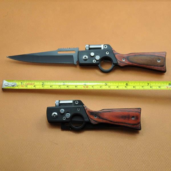 Складной нож модель автомата АК 47 с фонариком (AK 47)