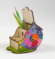 Деревянный конструктор Woody - Жемчужный домик