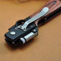 Складной нож модель автомата АК 47 с фонариком (AK 47), фото 2