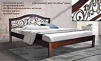 Кровать Илона 1,6м ковка