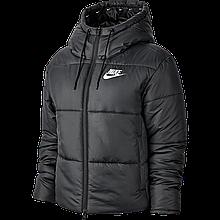 Куртка женская с капюшоном Nike Sportswear Synthetic-Fill CJ7578-010 Черный