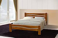 Кровать деревянная двуспальная Вивия 1,6м ясень