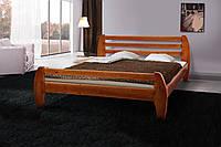 Кровать деревянная двуспальная Галакси 1,6м сосна