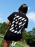 Жіноча футболка в стилі Off-White | Люкс якість!