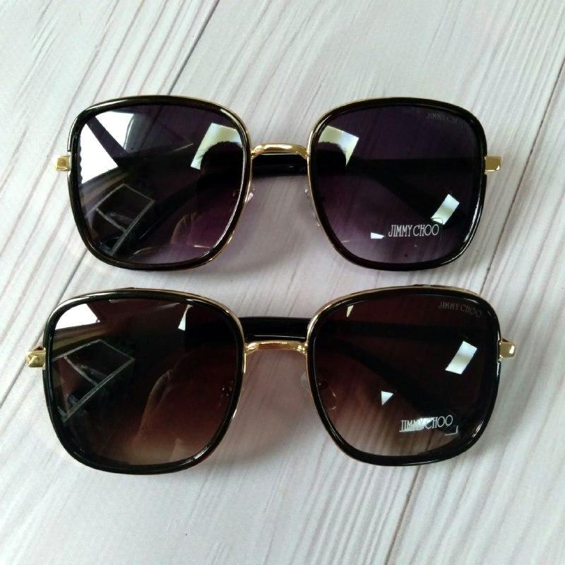 Модные женские очки солнцезащитные с шорами