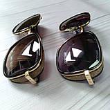 Модные женские очки солнцезащитные с шорами, фото 4