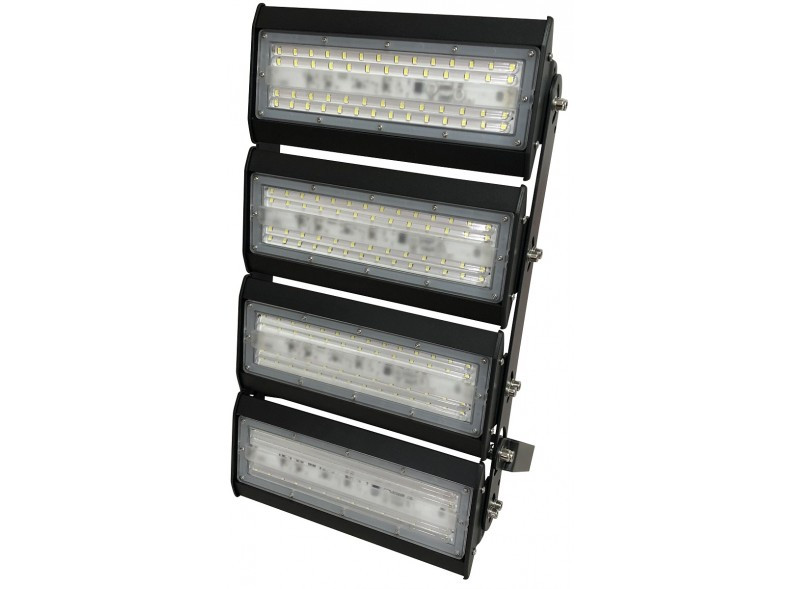 Led прожектор LUXEL 220-240V 200W 6500К IP65 LED-LX-200C секционный