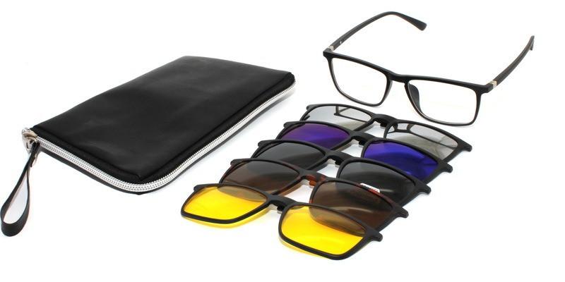 Очки со съемнымисолнцезащитными накладками Santarelli