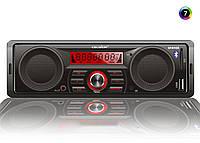 Автомагнитола магнитола Celsior GARAGE со встроенными динамиками бездисковый MP3/SD/USB/FM плеер в машину автозвук