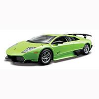 Авто-конструктор Bburago Lamborghini Murcielago LP670-4 SV(зеленый, 1:24),(18-25096)