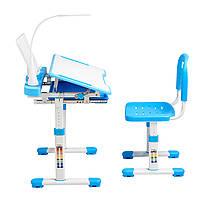 Эргономический комплект Cubby парта и стул-трансформеры Vanda Blue - ОПТОМ ДЛЯ ШКОЛ, фото 2