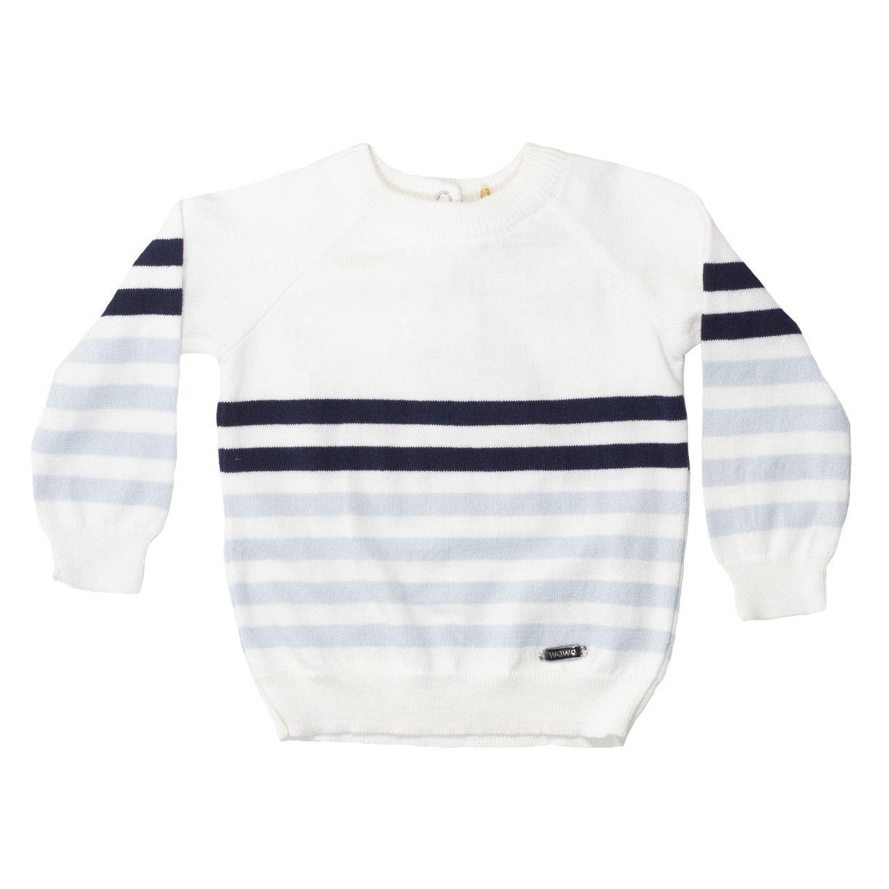В'язаний светр для новонародженого, унісекс, розміри 3 міс, 6 міс., 9 міс