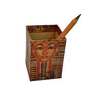 Підставка для ручок та олівців, серія ECO, картон, 70х70х100 мм
