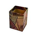 Подставка для канцелярских принадлежностей, серия ECO, картон, 70х70х100 мм, фото 2