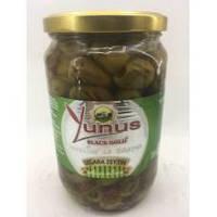 Оливки гриль б/к з/б Yunus в розсолі 720 г