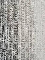 Обои виниловые на флизелине горячего тиснения Marburg Natural vibes метровые полосы широкие узкие черные серые, фото 1
