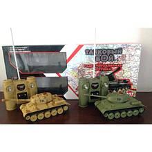 Танковый бой на акамуляторах Т-34