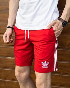 Спортивные шорты Adidas-красные